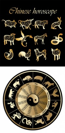 2_sets_of_12_zodiac_vector_150360