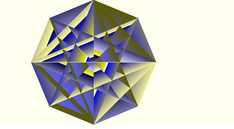 fractal medallion