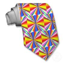 rainbow sunburst tie