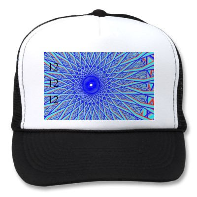 12-12-12 blue spoke hat
